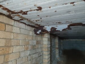 Corrosion and Rust to Permanent Steel Formwork